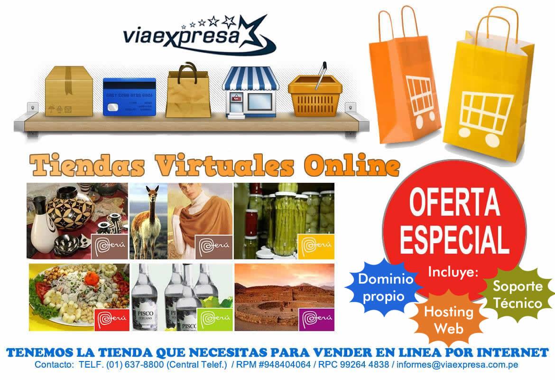 Tiendas Virtuales Online para PyMEs