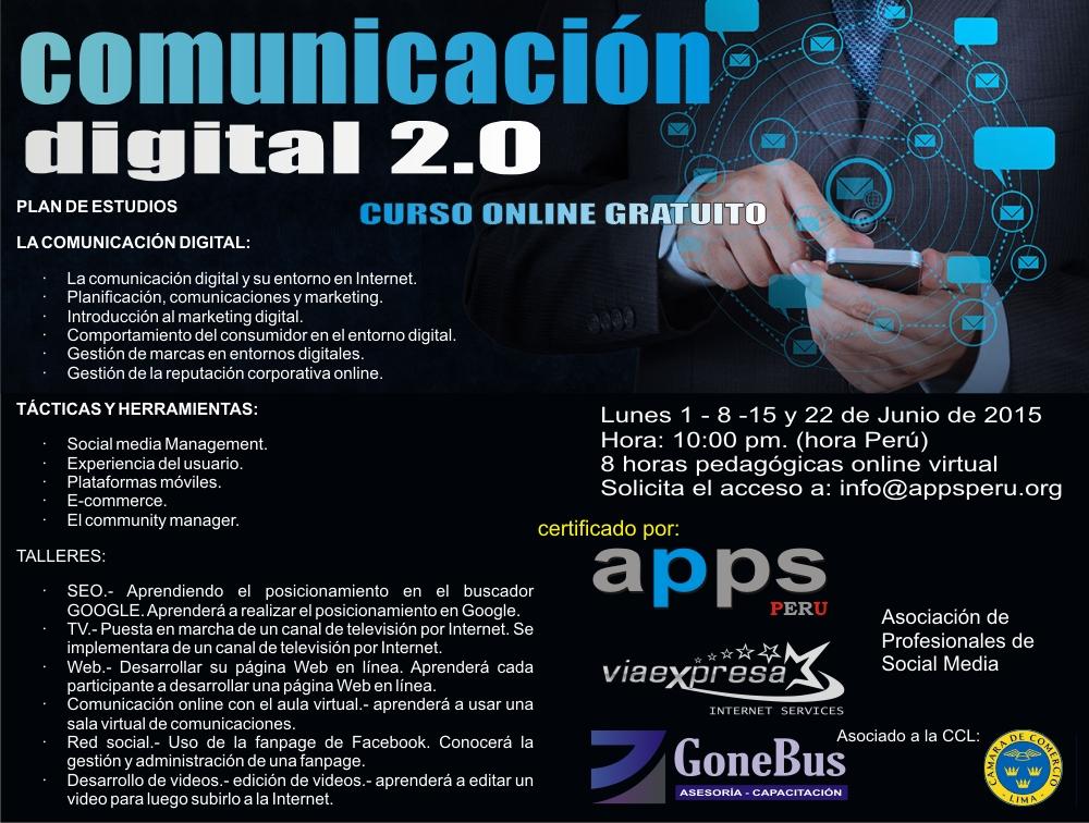COMUNICACION DIGITAL 2.0 - CURSO ONLINE GRATUITO