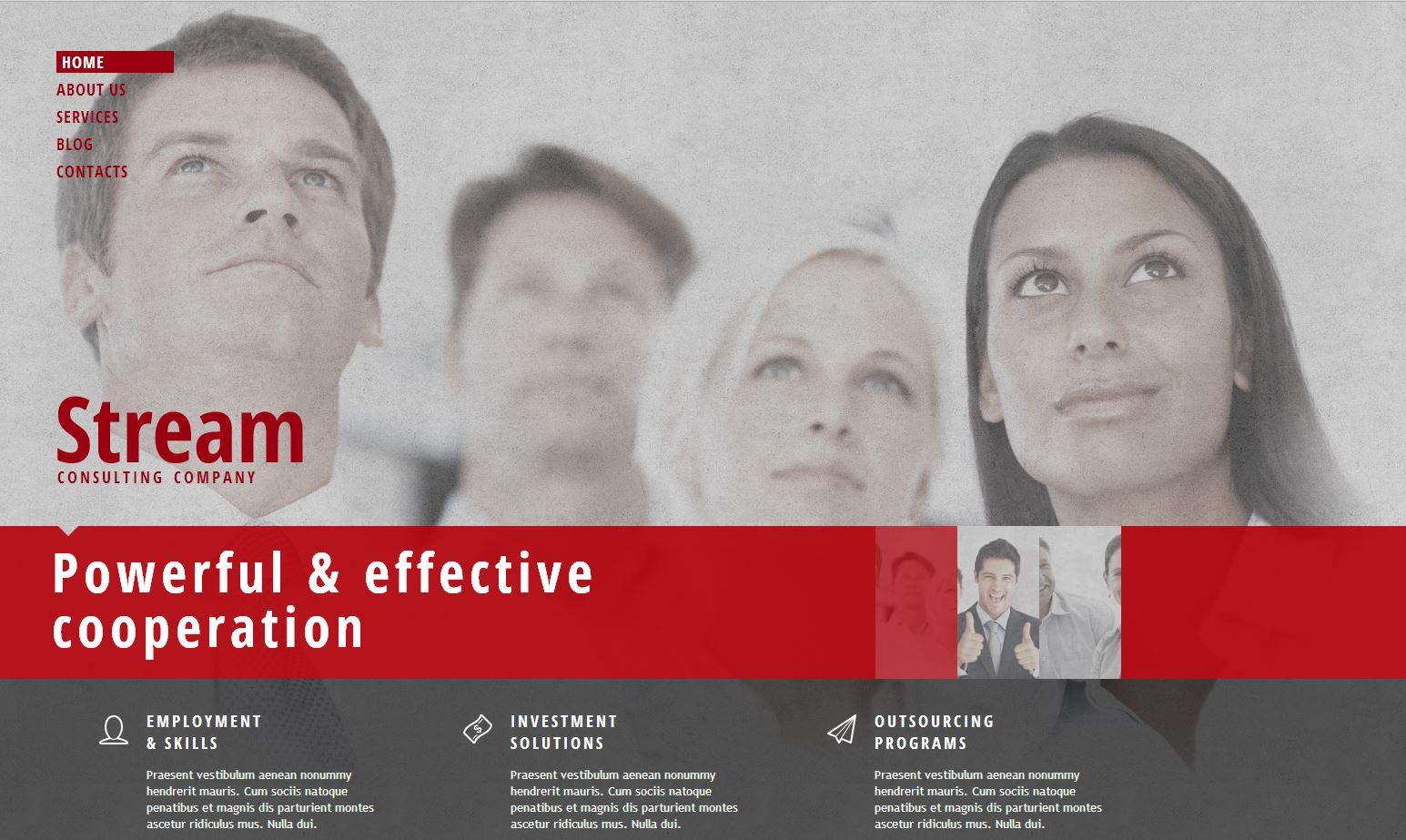 Web para empresas Consultoras del Perú
