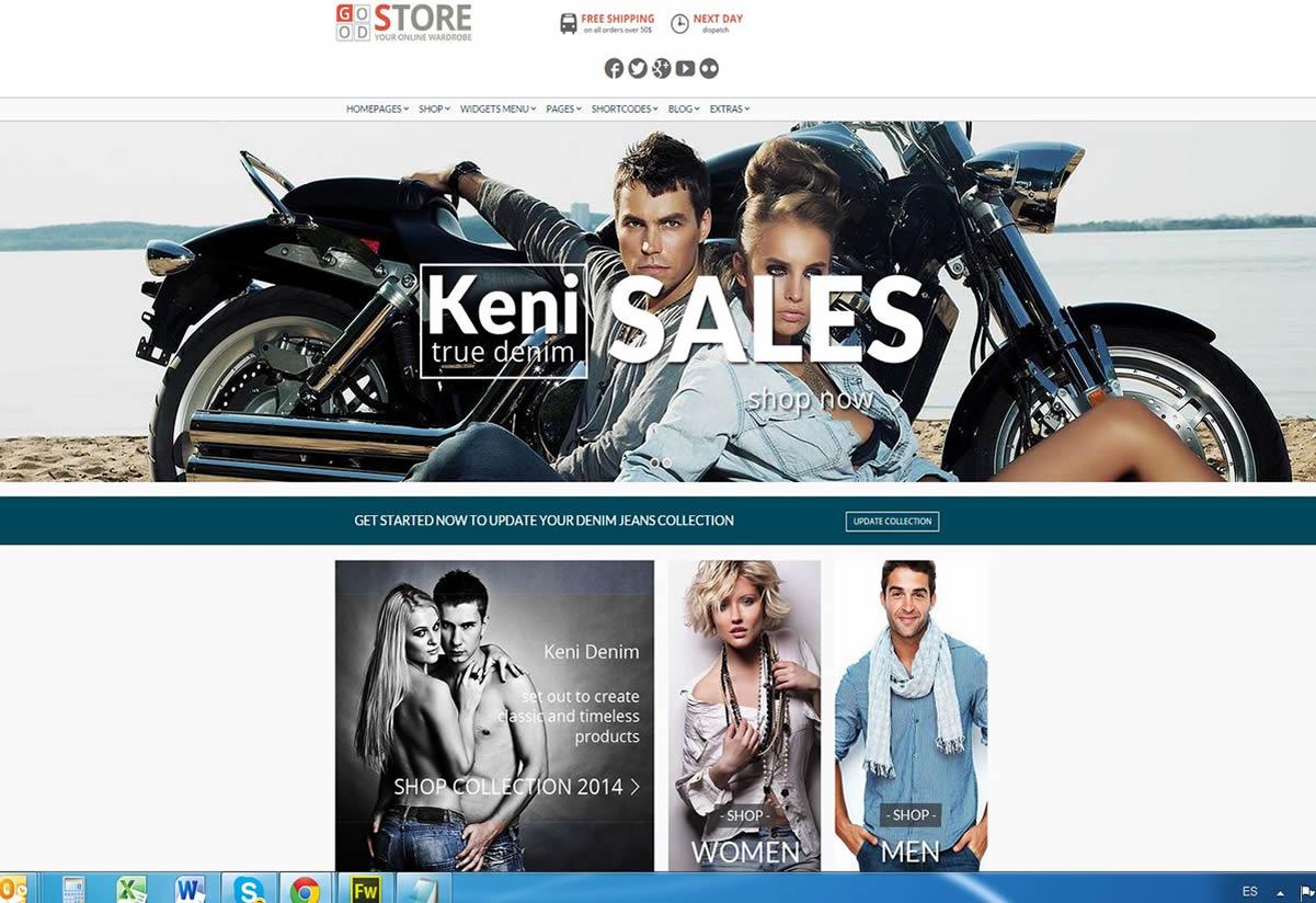 Tiendas Virtuales Online con Pasarelas de Pago para Empresarios de la Moda en Ropa y Sector Confecciones!