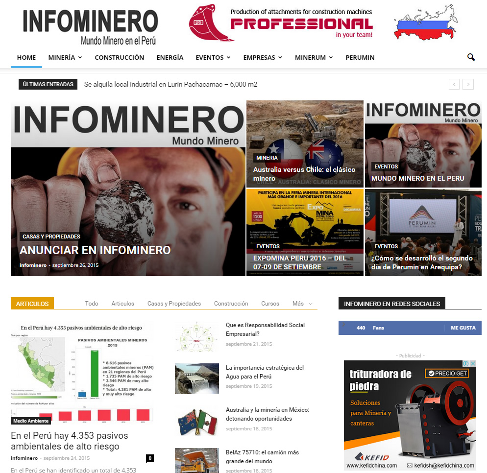 Portal de Noticias - Periodista - Comunicador - Consultor - Empresario - Marketing